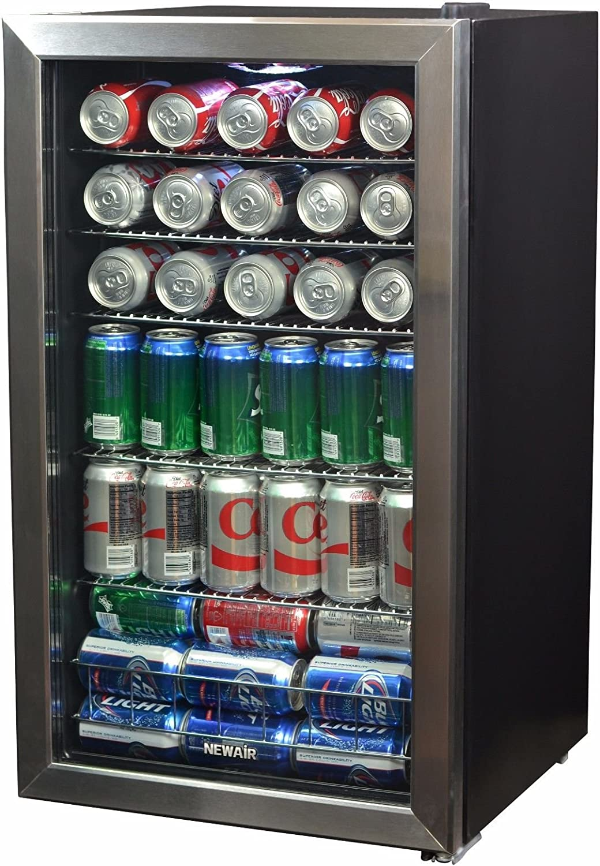 Beverage Center 6.7 cu ft Refrigerator Cooler Wine Beer Soda Kitchen Mini Fridge