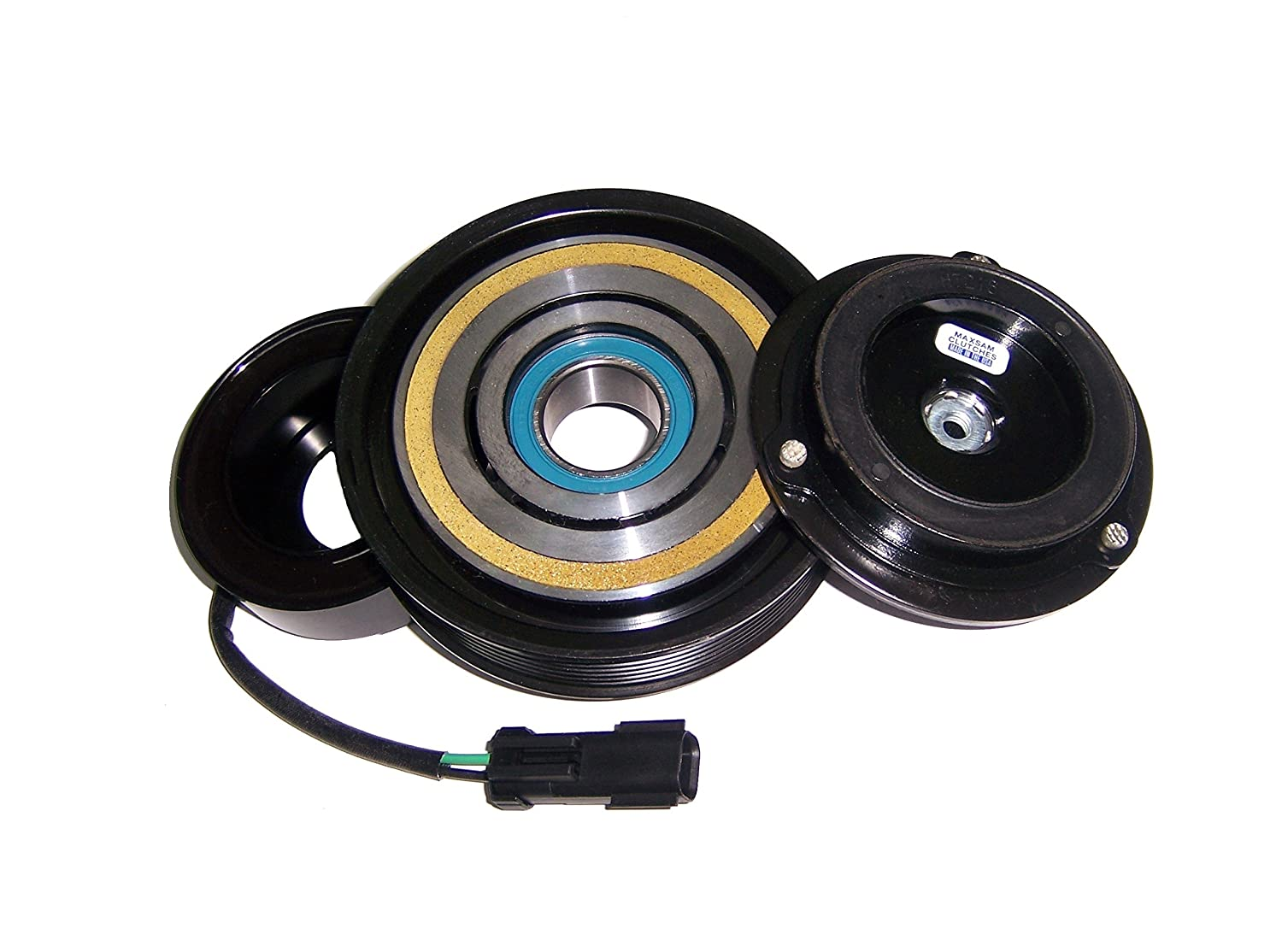 Made in the USA by Maxsam Clutches. For OEM compressor only AC Compressor Clutch Fits; 2003-2008 Dodge Ram 2500 5.7 liter Gas Engine