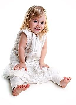 Saco de Dormir con Pies de Verano para Niño Slumbersac aprox. 1 Tog - Oso - 24-36 meses: Amazon.es: Bebé