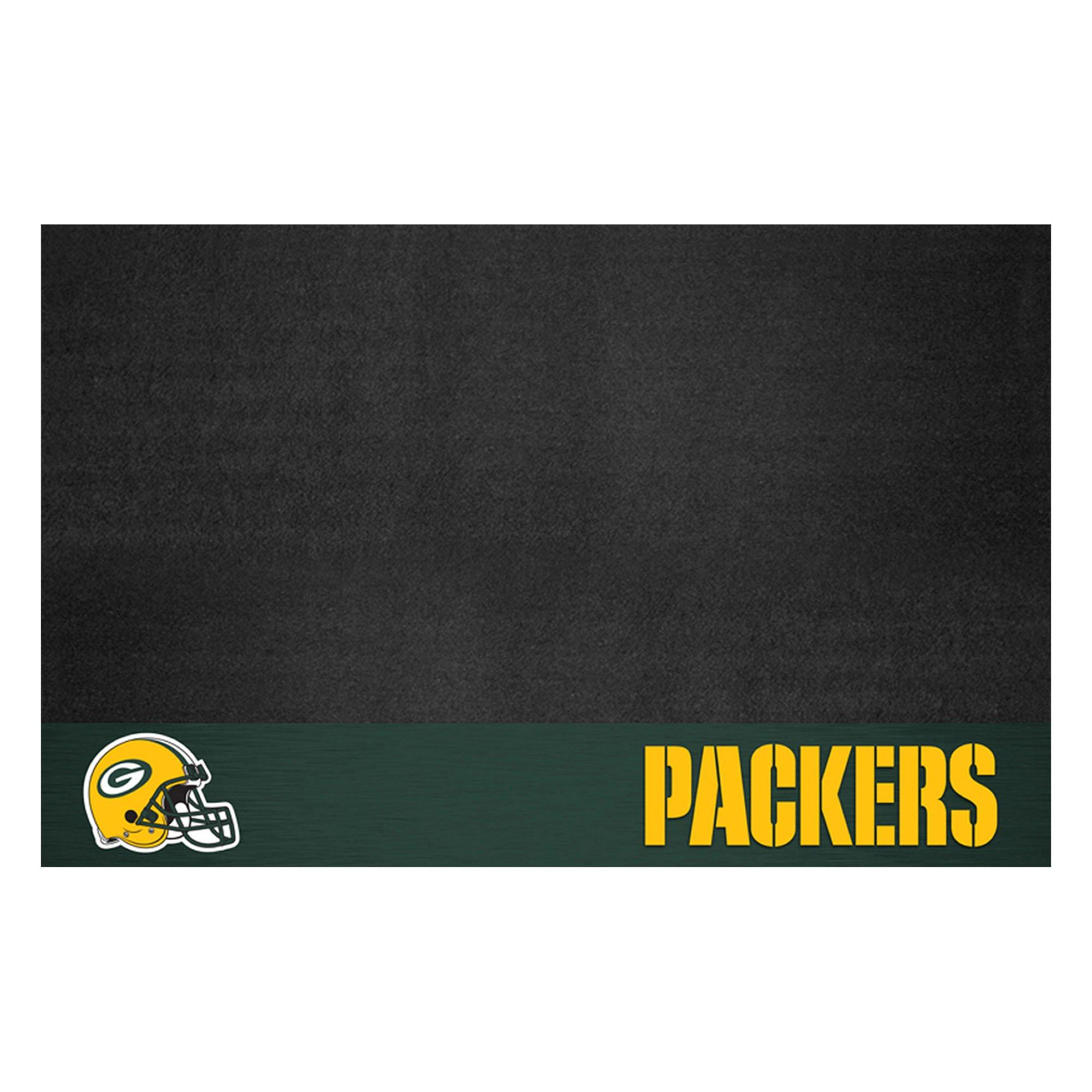 FANMATS NFL Green Bay Packers Vinyl Grill Mat by FANMATS