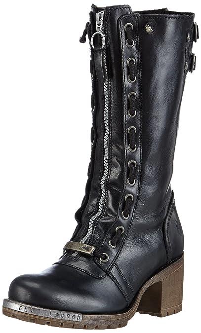 Fly London Lada Womens Boots Black Black 5 UK Amazoncouk Shoes   Bags