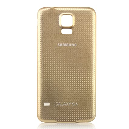 samsung galaxy s5 copper gold. oem samsung galaxy s5 sm-g900 battery door back cover replacement - copper gold (
