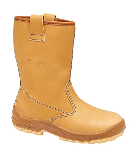 a9ff100a8b7 Jallatte Jalaska Honey Leather Rigger Work Safety Steel Toecap Boots