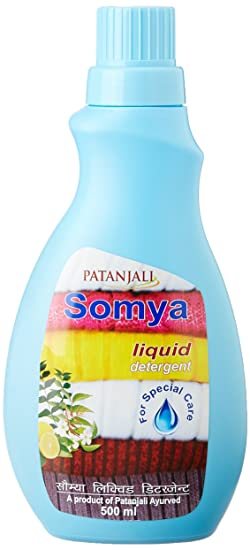 Patanjali Somya Liquid Detergent - 500ml Bottle