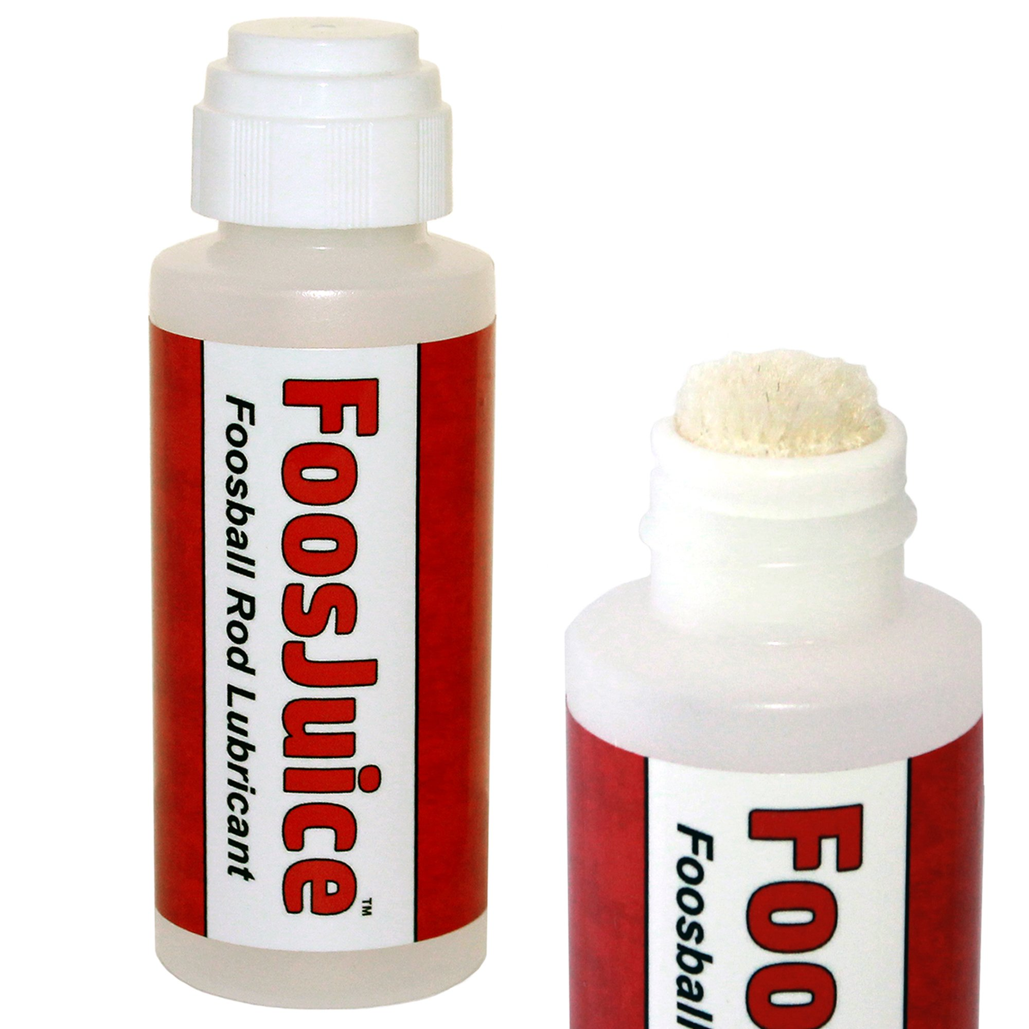 Spot On FoosJuice 100% Silicone Foosball Rod Lubricant with Dauber Top Applicator - The Clean and Easy to Use Lube by Spot On