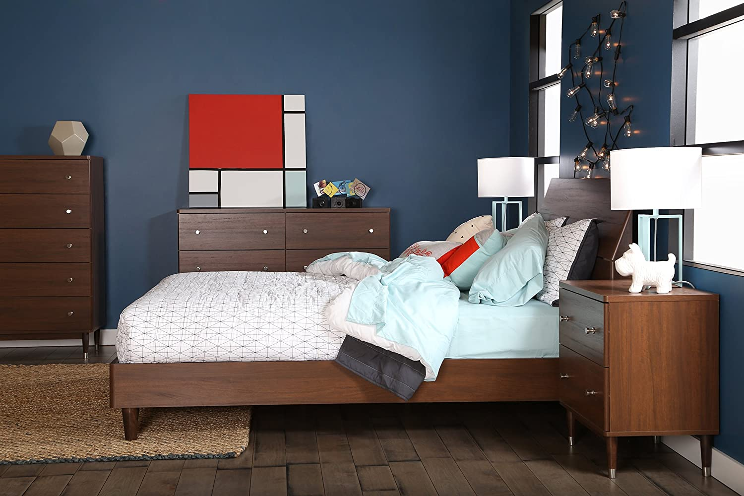 set south twin depot cherry kids platform headboards beds royal bedroom bed home the libra p shore