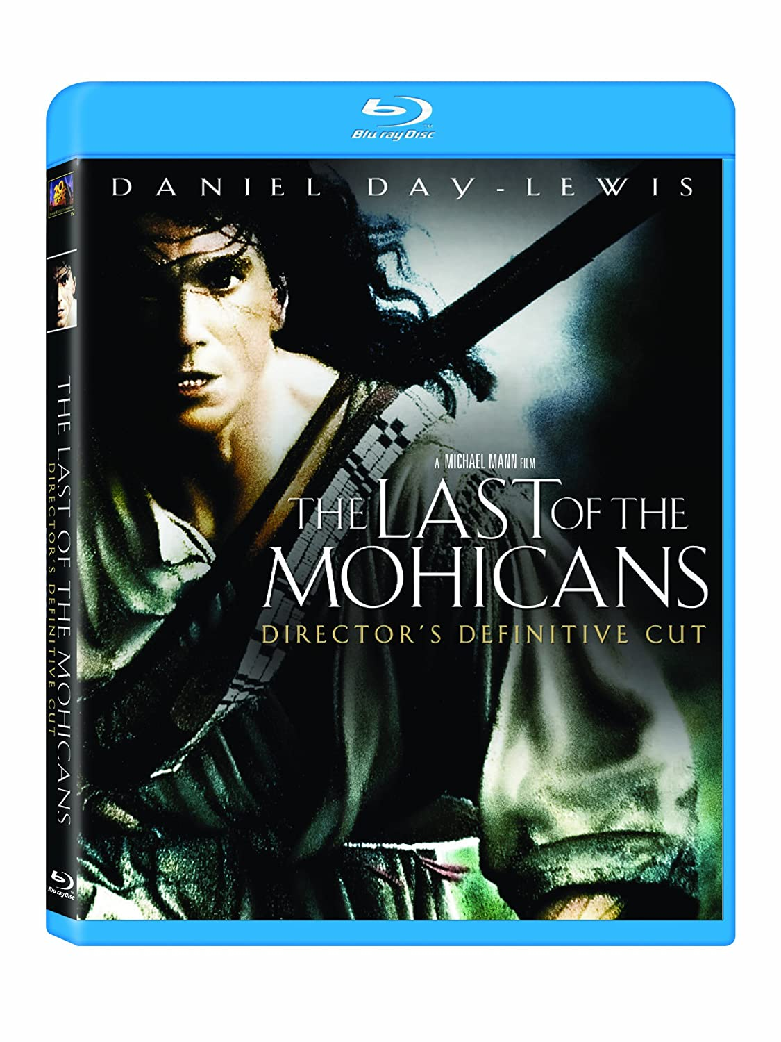 The Last of the Mohicans (Director's Definitive Cut) [Blu-ray] Daniel Day-Lewis Madeleine Stowe Russell Means Eric Schweig