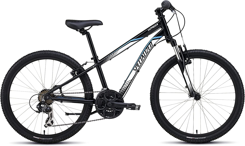 SPECIALIZED &apos hotrock 24kinder Bicicleta Negro/Blanco/Cian ...