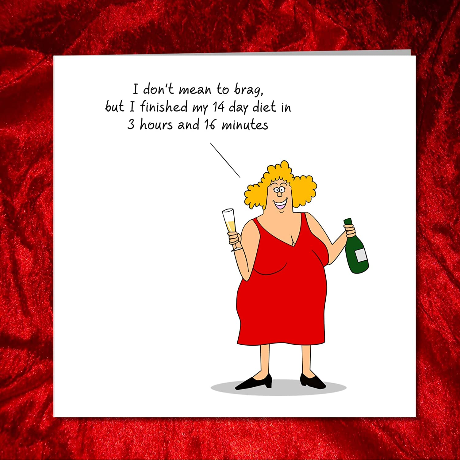 Funny Humour Card Grey L ~ FREE POSTAGE UK