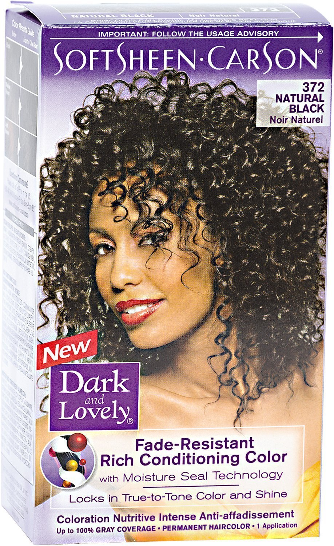 Amazon Dark Lovely Permanent Haircolor 372 Natural Black