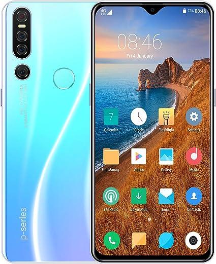 MeterMall P30 Pro Smartphone de 6.3 Pulgadas 6G RAM 128G ROM 4G ...