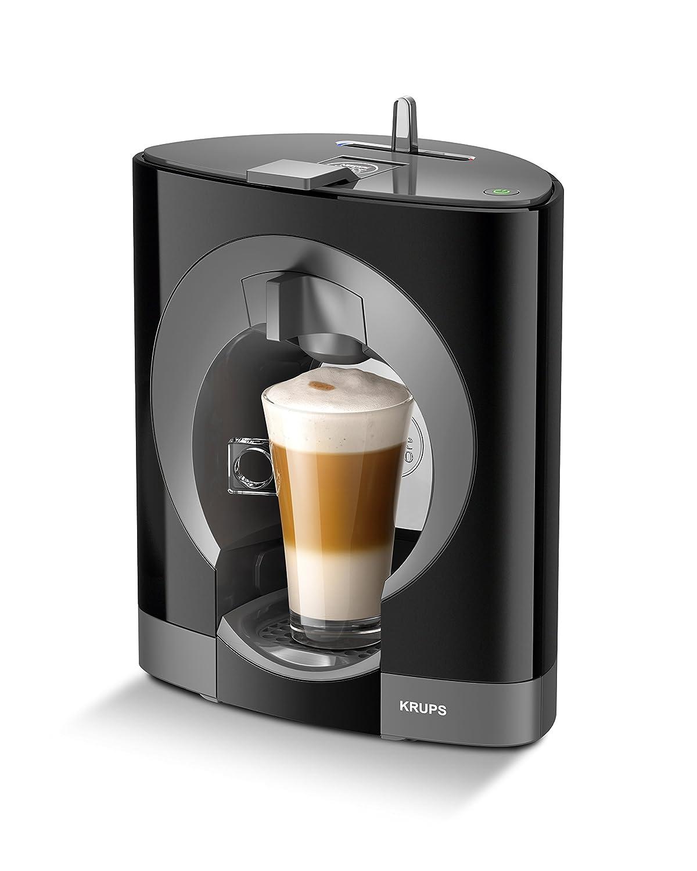 Krups YY2290FD Nescafé Dolce Gusto Oblo, Macchina del caffè, 24,5 x 18 x 31,5 cm, Nero KP110840