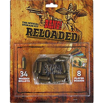 DV Games dvg9113–Reloaded, Set of Accessories for The Bang Card Game: Toys & Games