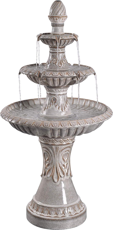 Kenroy Home 51092IV Kiera Fountains, Ivory