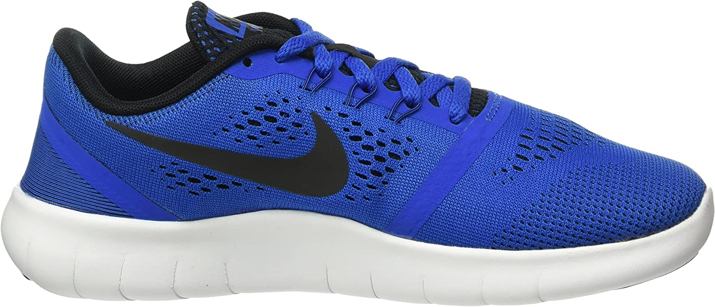 half off 6bd06 c0dcc Nike Unisex-Kinder Free RN (GS) Running Shoe Low-Top Blau (