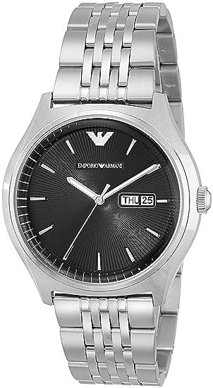 Ea7 Emporio Armani Reloj Analógico para Hombre de Cuarzo con Correa en Acero Inoxidable 0723763246415: Amazon.es: Relojes