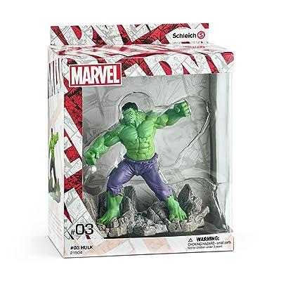 Schleich Marvel Hulk Diorama Character: Schleich: Toys & Games