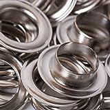BIG-SAM - Ösen mit Scheiben - 4/5/8/11 oder 14mm in Silber (14mm)