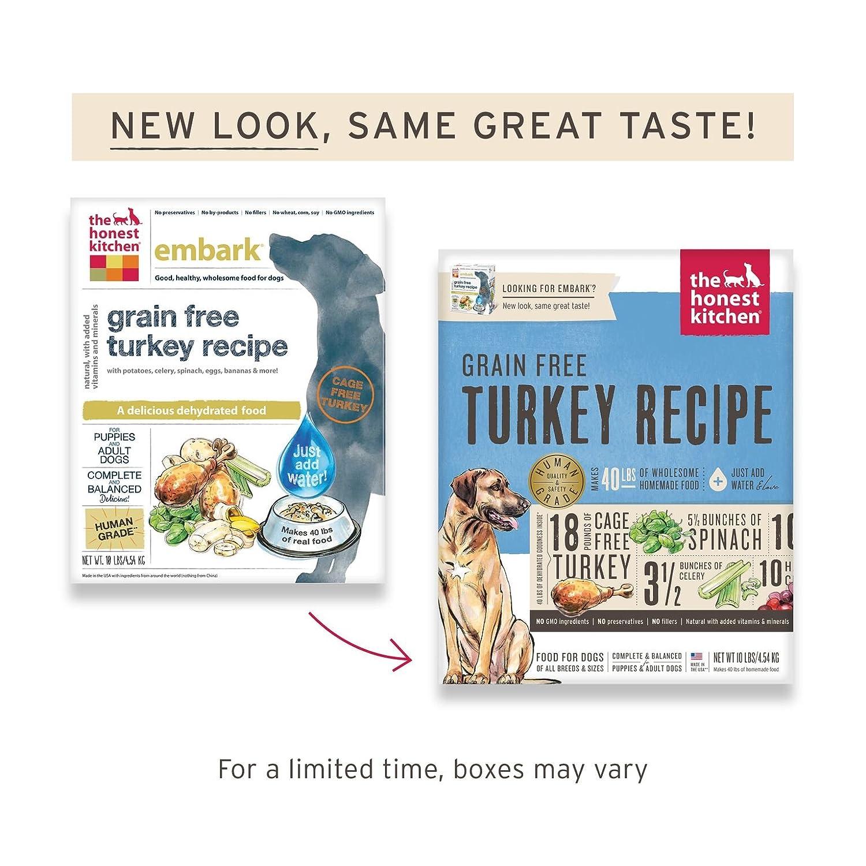 Amazon.com : The Honest Kitchen Human Grade Dehydrated Grain Free ...