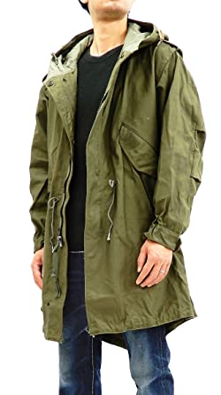 Buzz rickson s Men s U.S. Army M-51 Fishtail Parka Military Coat BR12266 122b0f31949