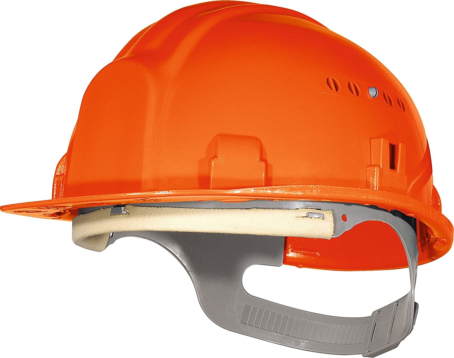 Casque de chantier Outibat - Orange - G1 Bricodeal