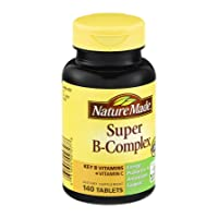 Nature Made Super B Complex Tablets, 140 Count (Pack of 3)