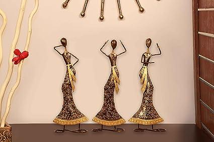 Show Piece For Living Room. Buy Idols Figurines Showpiece Center Piece Set  Of Home Decor Items