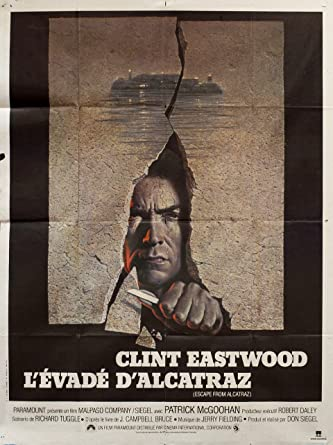 Escape from Alcatraz 1979 French Grande Poster at Amazons Entertainment Collectibles Store
