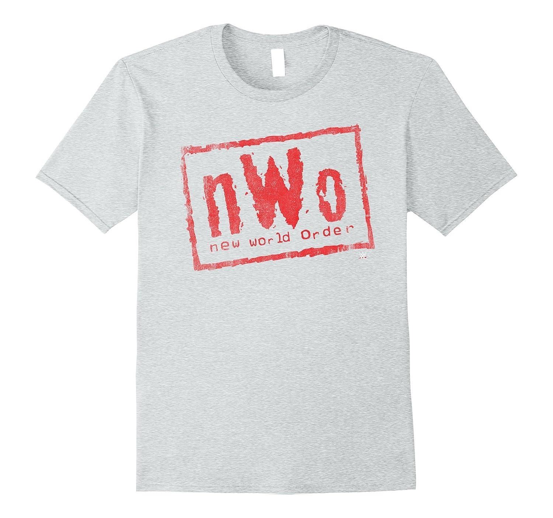 nWo New World Order WWE Wrestling Logo Graphic T Shirt-ln