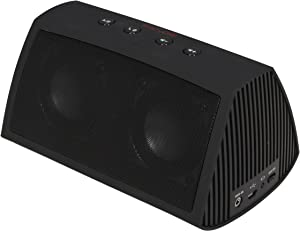 Rosewill Rosewill R-Studio AMPBOX Bluetooth Portable Speaker with Built-In Mic and Rechargeable Battery - Speakers - Retail Packaging - Black