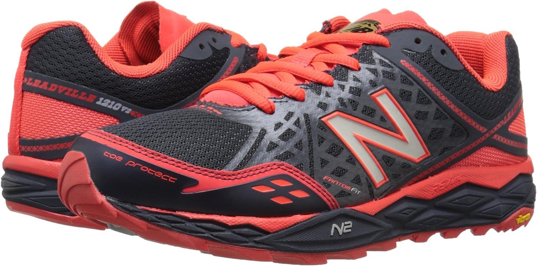 New BalanceMT1210 D V2 - zapatillas de senderismo hombre, Grey/Orange, 46,5: Amazon.es: Zapatos y complementos