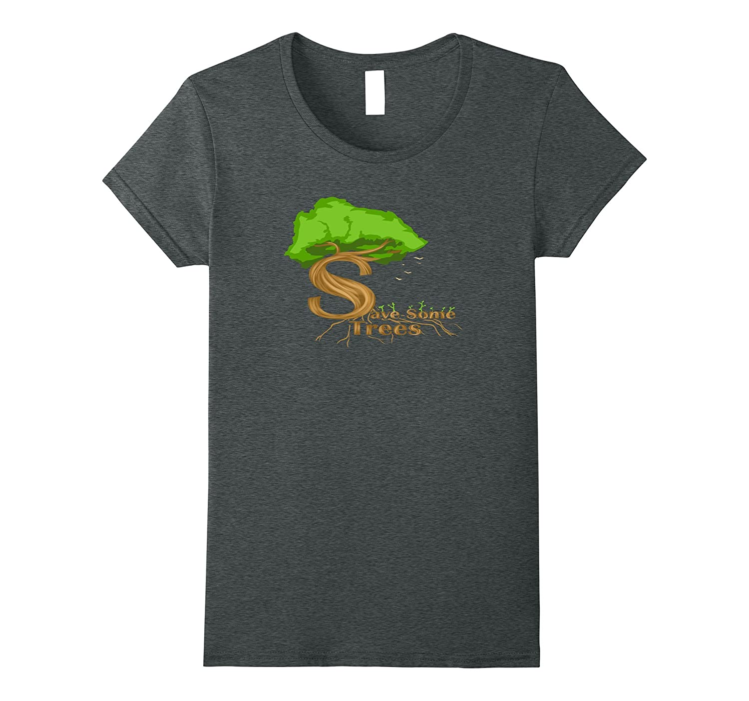 Wildlife Nature Forestry T Shirt Heather-Tovacu