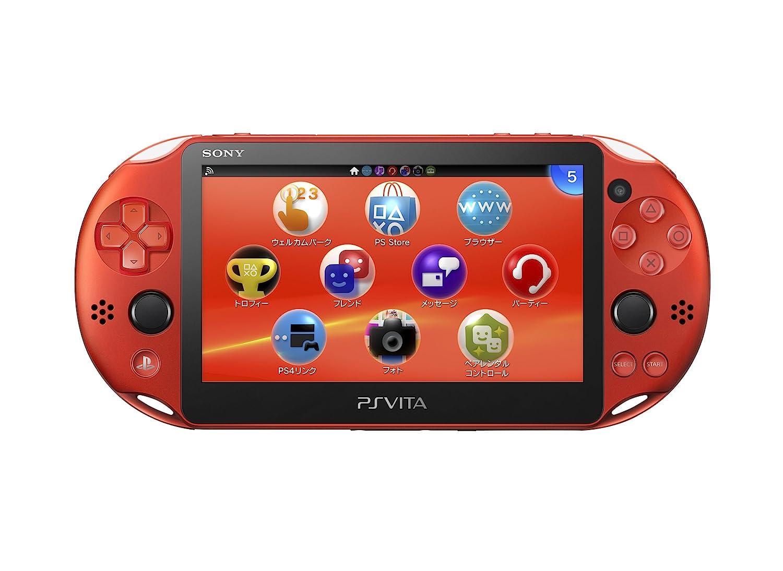 PlayStation Vita Wi-Fiモデル メタリック・レッド (PCH ...