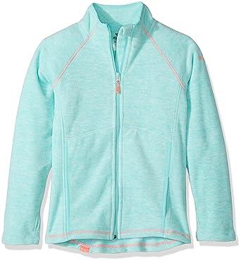 Amazon.com  Roxy Big Girls  Harmony Polar Fleece Zip up Jacket  Clothing ed55df8e25