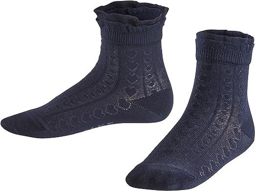 EU 19-38 Skin-friendly kid UK sizes 3 - 5 1 Pair 83/% Cotton Multiple Colours FALKE Kids Romantic Net Socks ideal for festive occasions