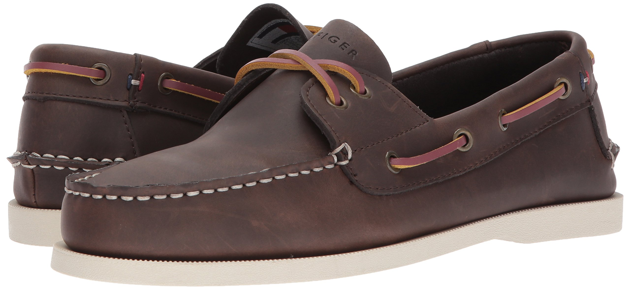Tommy Hilfiger Men's Bowman Boat shoe,Coffee Bean,8.5 M US by Tommy Hilfiger (Image #6)