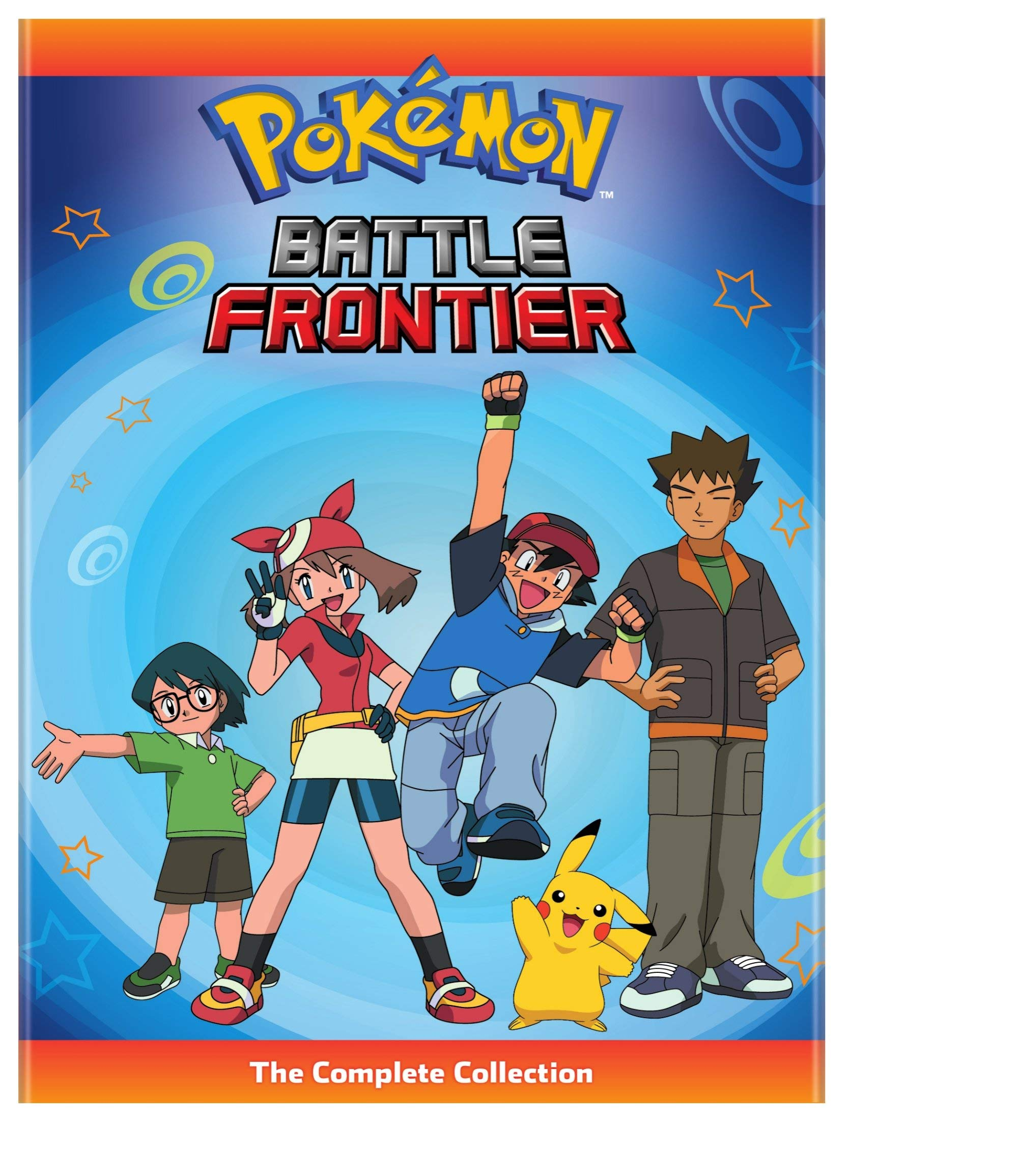 DVD : Pokemon Battle Frontier: Complete Collection (Boxed Set)