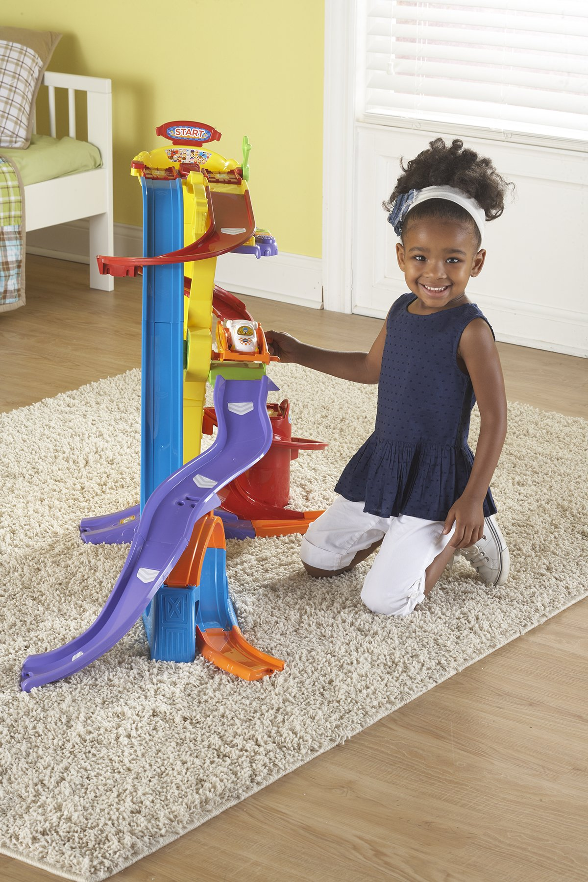 VTech Go! Go! Smart Wheels Ultimate Amazement Park Playset (Frustration Free Packaging) by VTech (Image #4)
