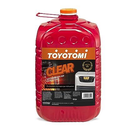 Toyotomi Clear Combustible Ultra INODORE para estufas portátil, Naranja, ...