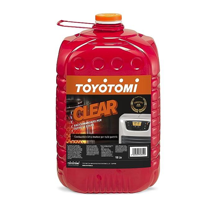 16 opinioni per Toyotomi Clear Combustibile Ultra Inodore per Stufe Portatili, Arancione, 18