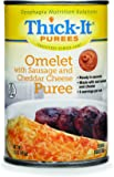 Thick-It Omelet with Sausage and Cheese Puree, 15 Ounce
