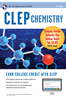 Amazon com: CLEP Chemistry (CLEP Test Preparation) eBook: Kevin Reel