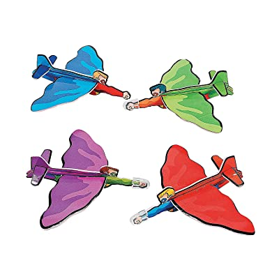 Fun Express Superhero-Shaped Gliders - Toys - 24 Pieces: Toys & Games
