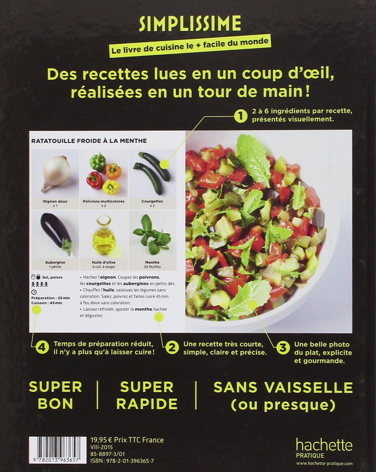 Simplissime: Le livre de cuisine le plus facile du monde: Amazon ...