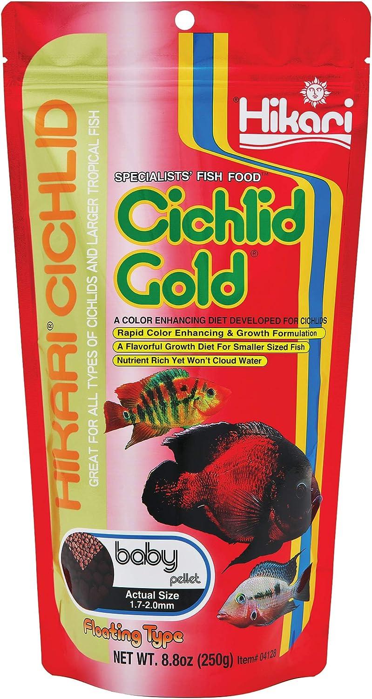 Hikari Cichlid Gold Fish Food, Baby Pellets