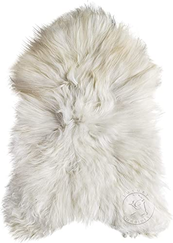 Icelandic Sheepskin Rug 2.5ft x 4ft approx Soft Premium Quality Area Rug