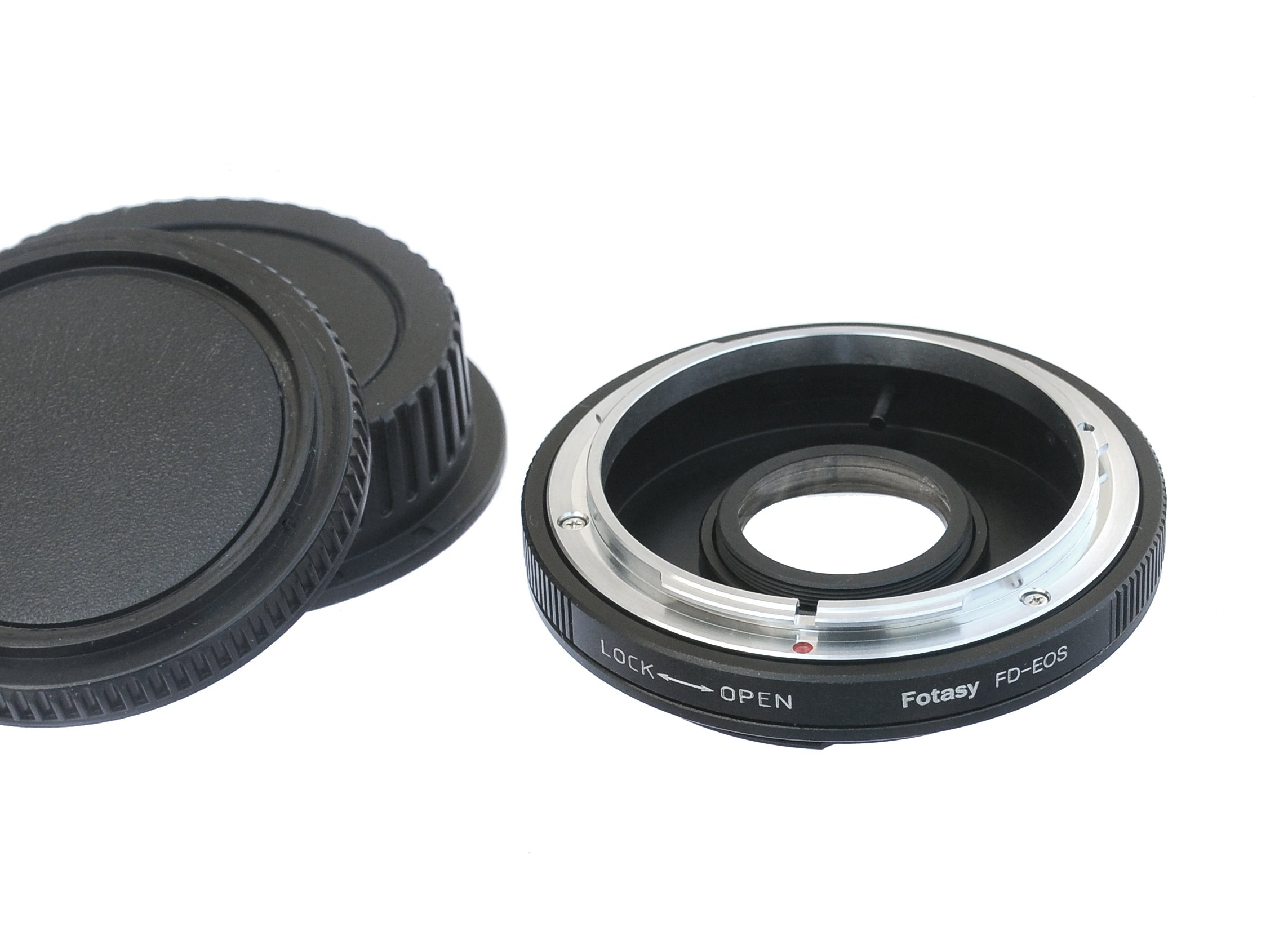 Fotasy Canon FD Lens to Canon Adapter, FD to Canon Adapter, Infinity Focus, Compatible with Canon DSLR 5D IV III II 1Ds 1D Series 7D II 7D 80D 70D 60D 50D 1300D 1200D 1100D 1000D 760D 750D 700D 650D by Fotasy