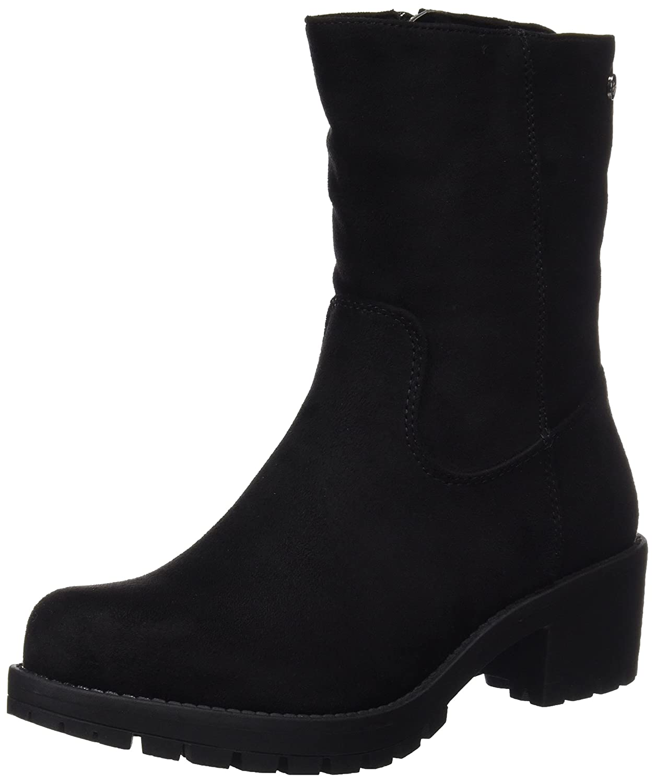 XTI 047432, Botines para Mujer, Negro (Black), 40 EU: Amazon.es: Zapatos y complementos