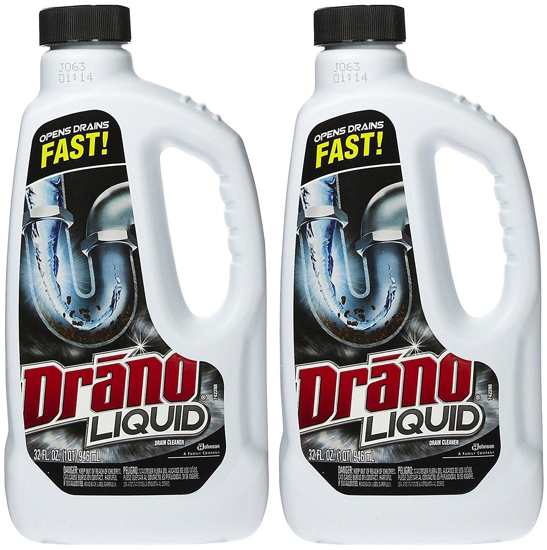 Amazon.com: Drano Liquid Clog Remover, Regular Formula - 32 oz - 2 pk: Health & Personal Care