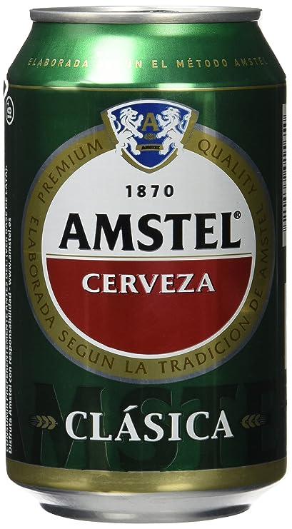 Amstel Clásica Cerveza - 330 ml